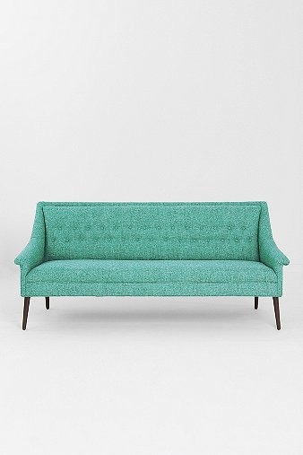 Charlotte Sofa Turquoise Contemporary Sofas By Urban Outfitters