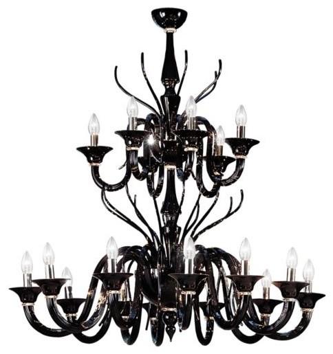 Belzebu L18 Chandelier contemporary-chandeliers