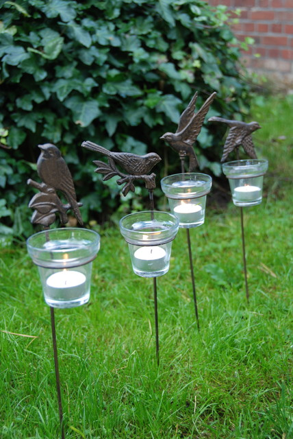 Votive Candle For Garden Stake