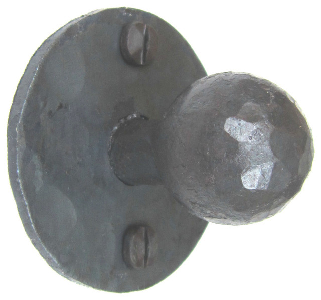 HK3 Spanish style round wrought iron cabinet hardware - Mediterranean - Cabinet And Drawer Knobs ...