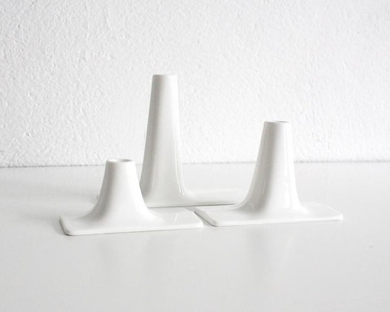 Range Candleholder Set -