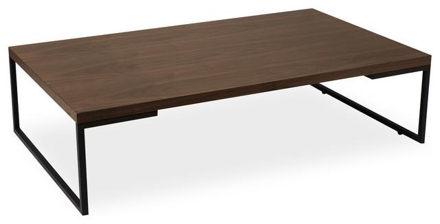 Myron Walnut Rectangular Coffee Table modern-coffee-tables