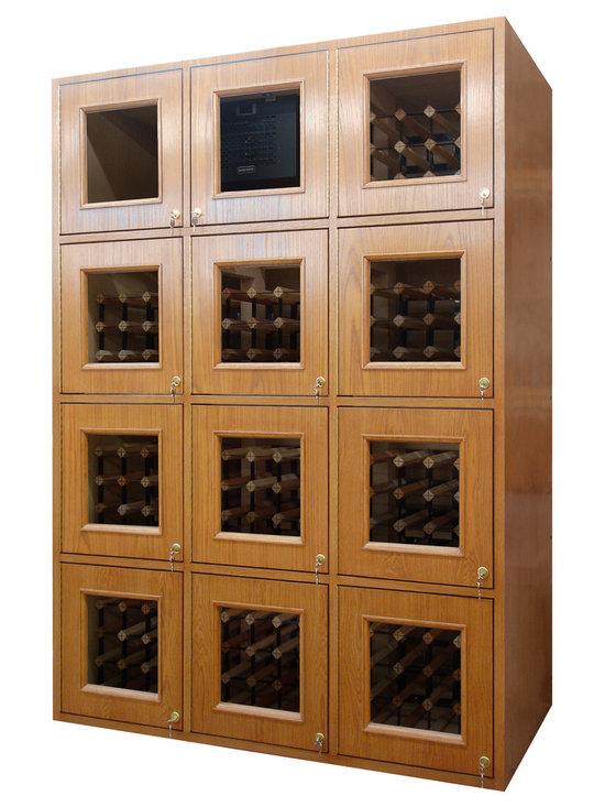 Custom Wine Locker -