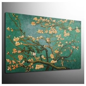 Almond Branches in Bloom Oil Painting by Vincent Van Gogh traditional-artwork