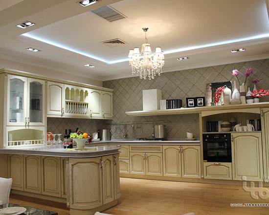ITB - kitchen island, classic kitchen - Simple and elegant design, can be customized