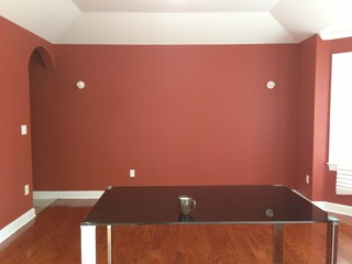 would like contemporary look for dining room 12x14