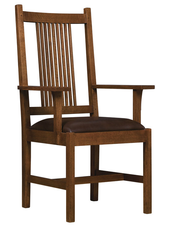 Stickley Spindle Arm Chair 89/91-330-A -