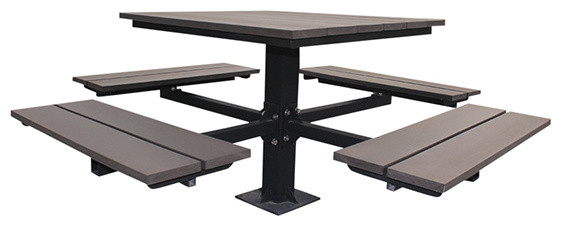 Quality Picnic Tables contemporary-outdoor-tables