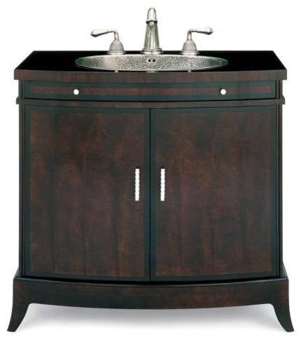 Cole + Co. Designer Series Primavera Single Bathroom Vanity with Optional Sink contemporary-bathroom-vanities-and-sink-consoles