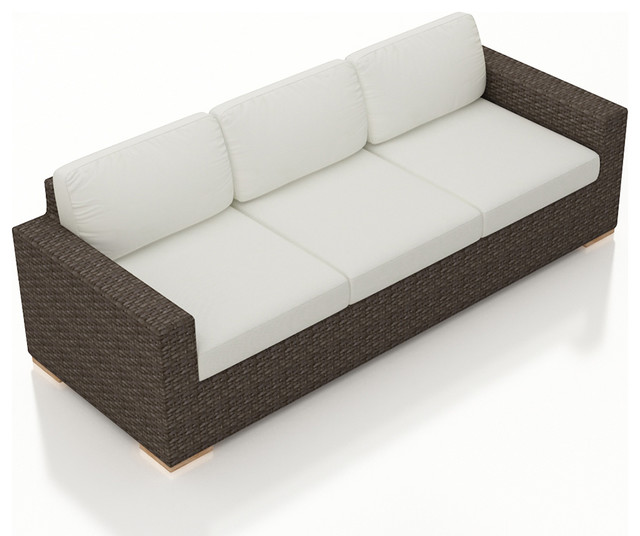 Arden Outdoor Modern Sofa Canvas Natural Cushions  : contemporary outdoor sofas from www.houzz.com size 640 x 536 jpeg 50kB