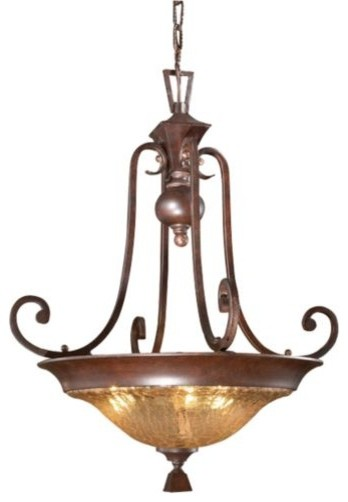 Elba Bowl by Uttermost traditional-pendant-lighting