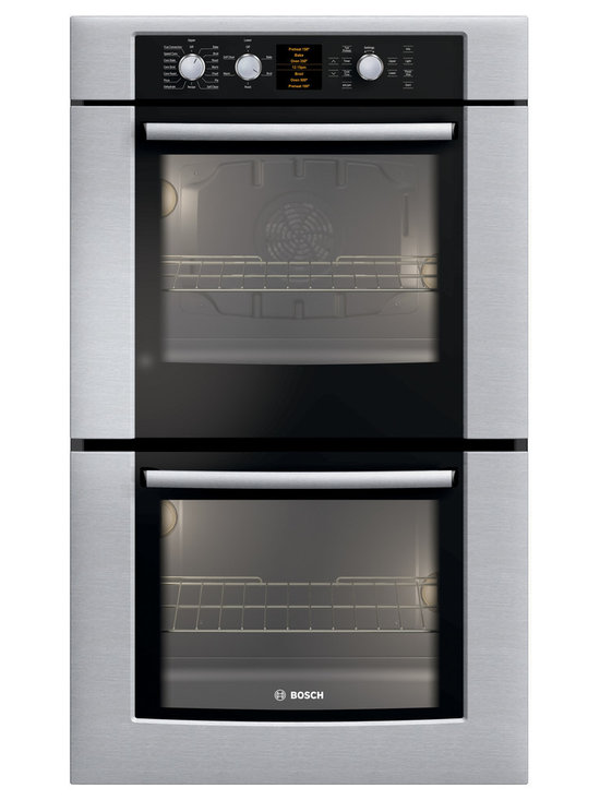 """Bosch 30"""" 500 Series Double Wall Oven With Convection, Stainless 