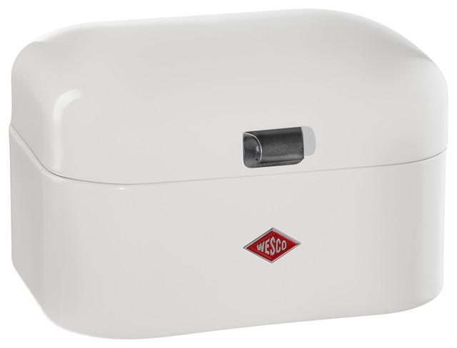 Wesco Single Grandy Bread/Storage Box, White - Contemporary - Bread Boxes - by Lien & Co. Inc.