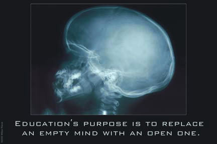Education for an Empty Mind 12x18 Giclee on canvas contemporary-prints-and-posters
