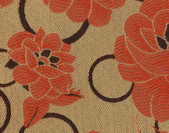 Bardot, Rouge eclectic-upholstery-fabric