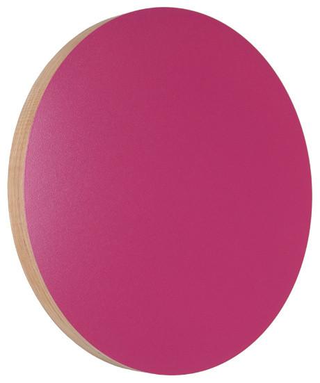 Kotona Noteboard, Round, Fuchsia contemporary-bulletin-boards-and-chalkboards