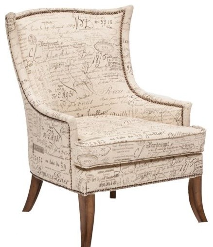 Sanctuary Paris Accent Chair Eclectic Armchairs And