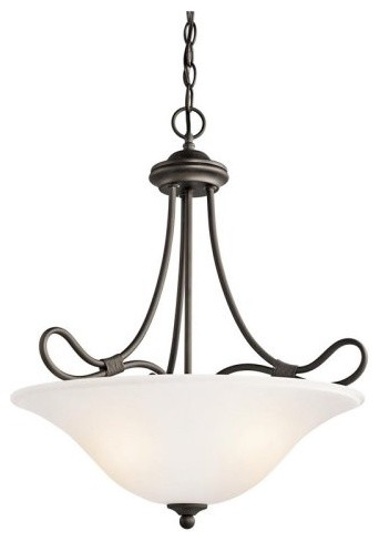 Kichler Stafford 3356 Inverted Pendant contemporary-ceiling-lighting
