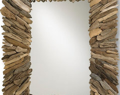 Currey & Co Beachhead Mirror eclectic mirrors
