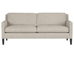 Vaughn Apartment Sofa | Crate&Barrel contemporary sofas