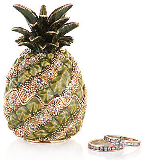 Pineapple Jewel Box modern storage boxes