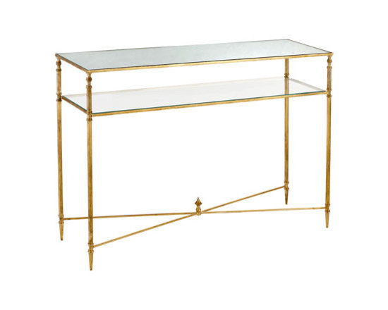 'Barstow' Console - I like this light and elegant option for entryways.