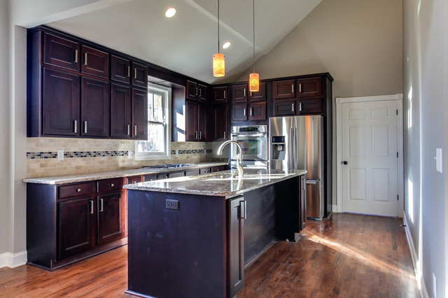 York Espresso Kitchen - Traditional - nashville - by ProCraft Cabinetry