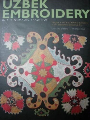 Uzbek Embroidery in the Nomadic Tradition traditional-books