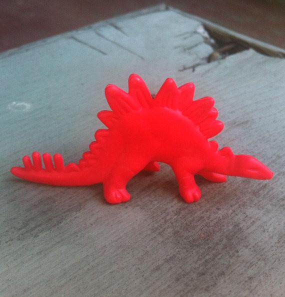 1967 Frito Lay Dinosaur Premium Stegosaurus by Therp Sajik Enterprises eclectic-kids-toys