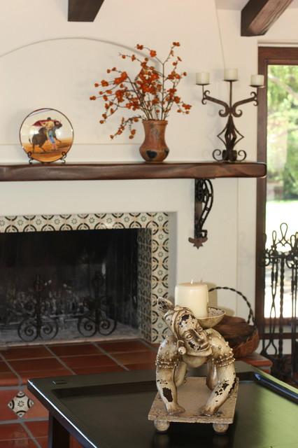 Fryer Living Room mediterranean