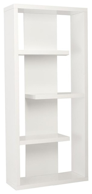 Robyn Shelving Unit in White contemporary-bookcases