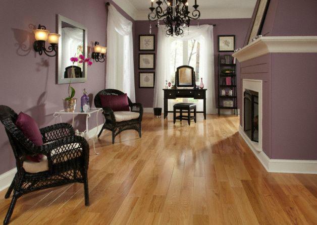 Bellawood Natural Red Oak Hardwood Flooring By Lumber