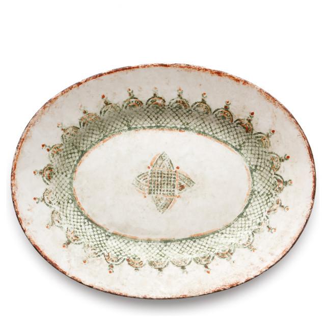 Chianti Large Oval Platter mediterranean-platters