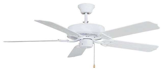 Fanimation BP230MW 52 Inches Ceiling Fan Aire Décor Collection traditional-ceiling-fans