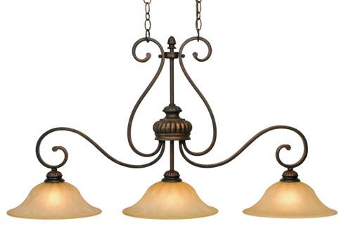 Mayfair 3-Light Island Light traditional-chandeliers