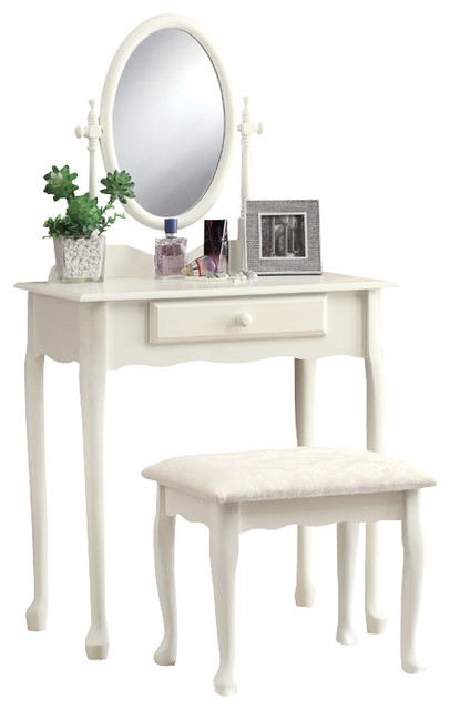3412 2 piece vanity set in antique white traditional bedroom products