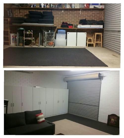 Garage Conversion Any Ideas To Hide Door