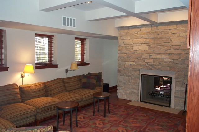 Sawyer Residence traditional-indoor-fireplaces