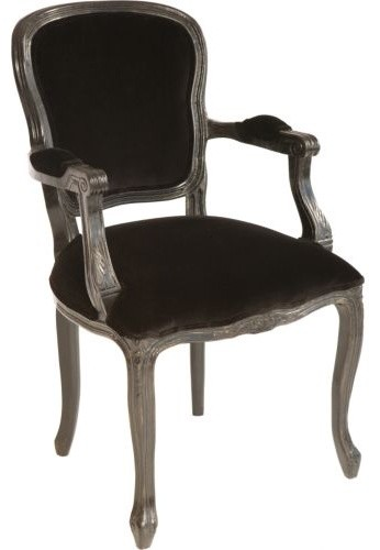 Orleans Arm Chair Black Dining Chairs by High Fashion Home : dining chairs from www.houzz.com size 346 x 500 jpeg 22kB
