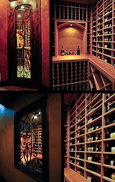 Closet Cellar Modern Wine Cellar Salt Lake City By