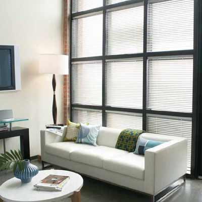 "Levolor Mark I 1"" Mini Blinds contemporary-window-blinds"