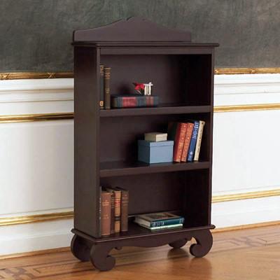 Bratt Decor Chelsea Bookcase Espresso traditional-kids-bookcases