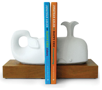 Whale Bookends traditional accessories and decor