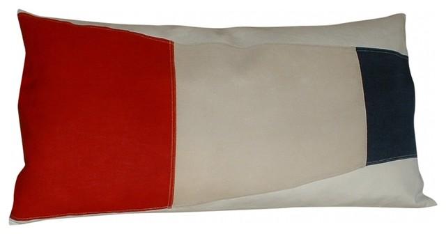 Signal Flag Pillow eclectic-decorative-pillows
