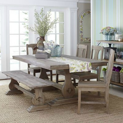 provence 6 piece dining set traditional dining sets by splendid willow. Black Bedroom Furniture Sets. Home Design Ideas