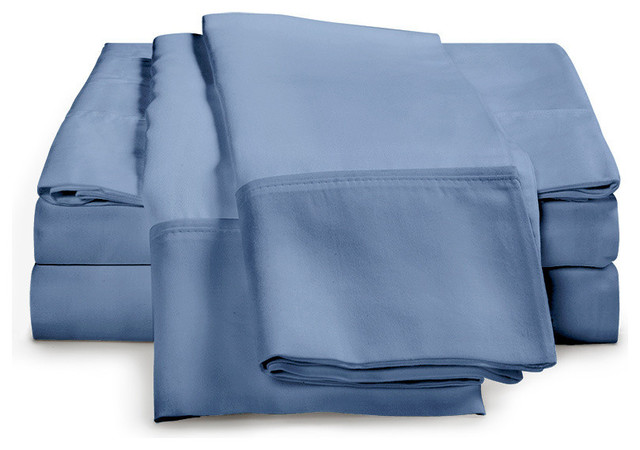 530 Thread Count - Egyptian Cotton Sheet Set by ExceptionalSheets traditional-sheets