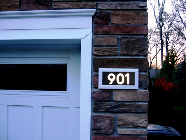 Address LED - illuminated house numbers - Contemporary - seattle - by Address LED