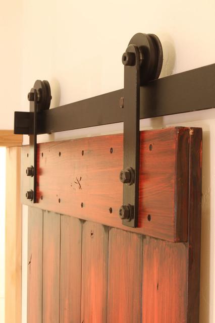 Nylon Barn Door Hardware modern-windows-and-doors
