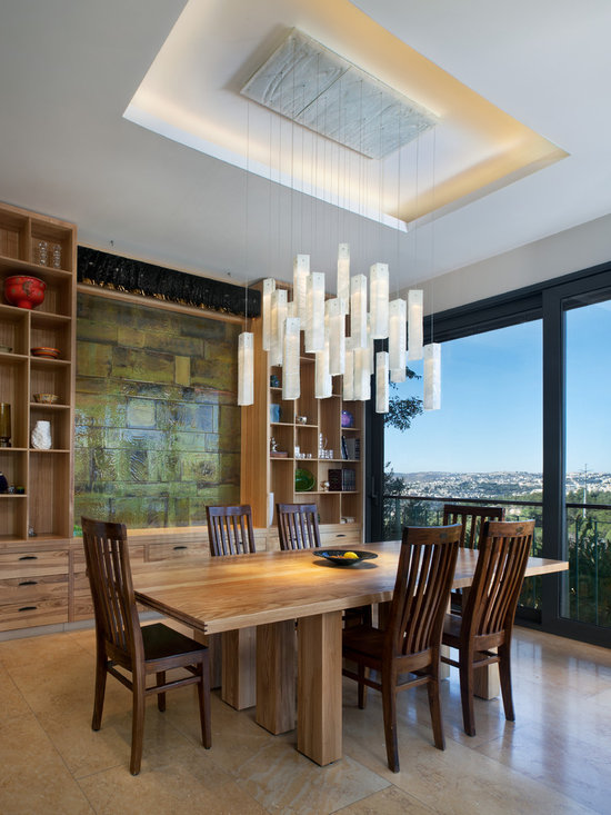 """White candles glass pendants - by GalileeLighting - Our beautiful candles chandelier is made of art glass pendant lighting, in a unique technique that creates a special """"wrinkled glass"""" texture and makes a graceful chandelier for the living room, staircase, lighting for kitchen or ant other space."""