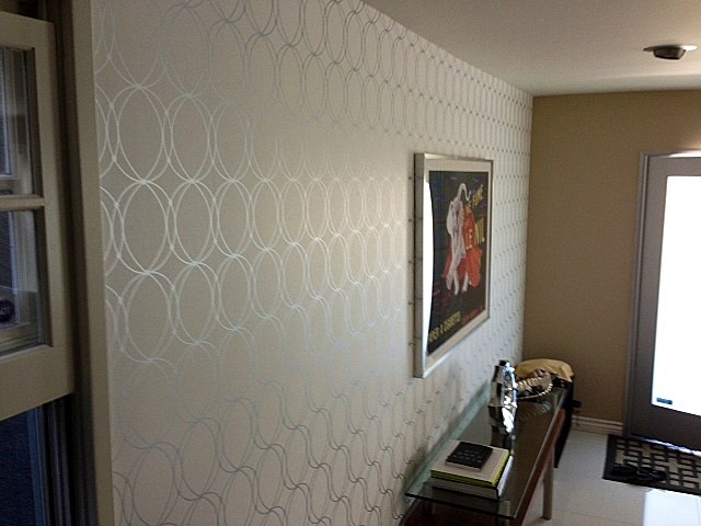 Accent Wall Contemporary Los Angeles By Majestic